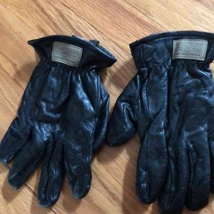 Genuine leather men's gloves